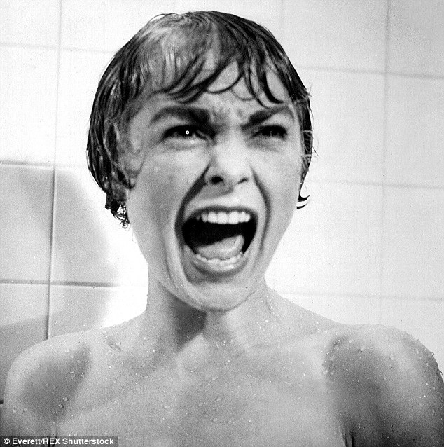 Janet leigh in Psycho